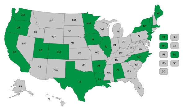 State 'Accountable Care' Activity Map