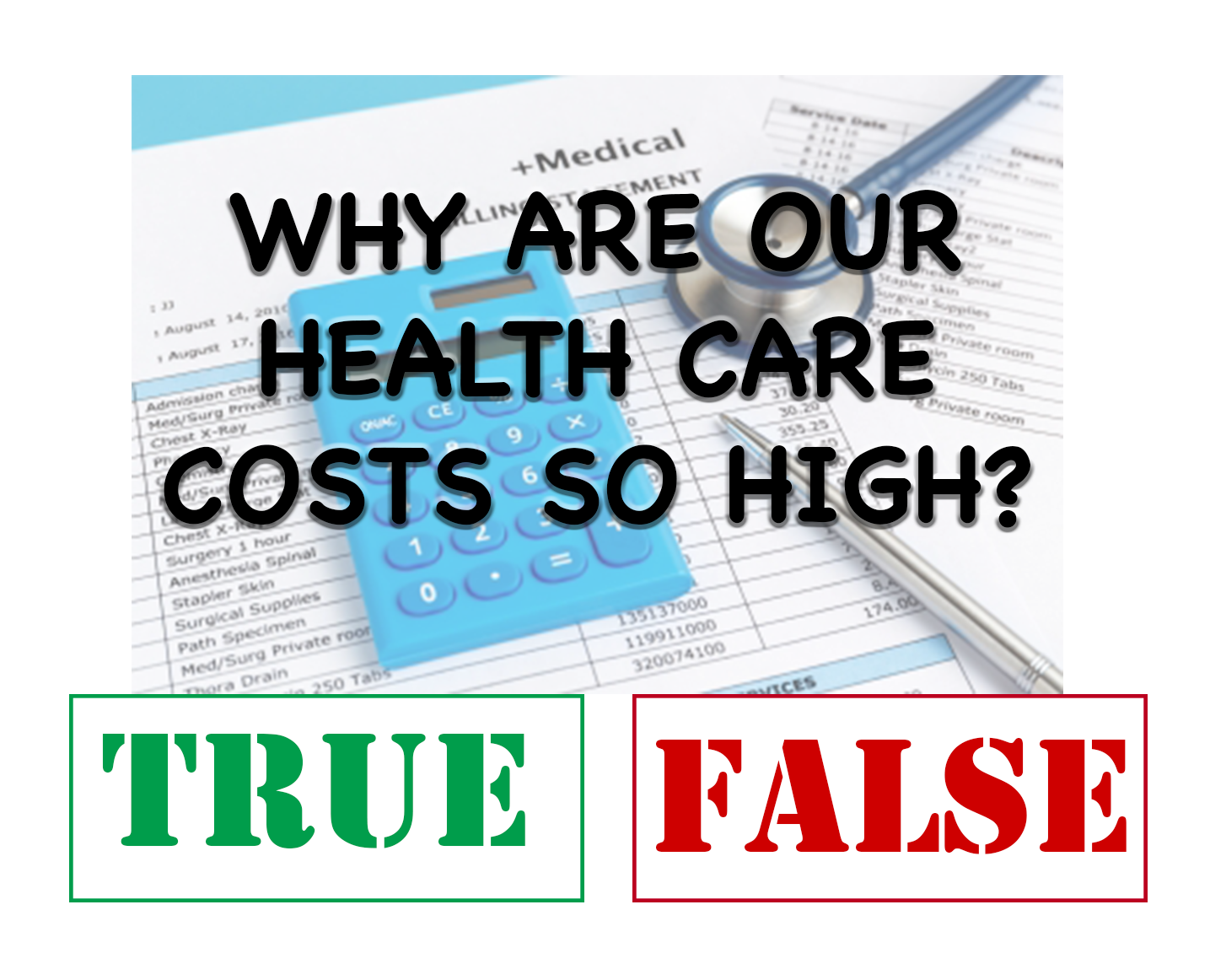 Do You Know What's Really Driving Up Health Care Costs in Your State? Take This Quiz