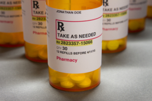 prescription bottle