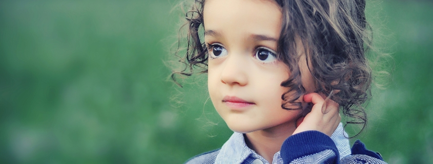 wistful child
